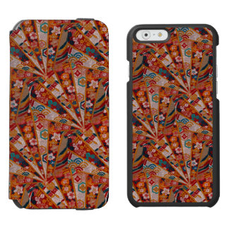 Screens Oriental Fabric Incipio Watson™ iPhone 6 Wallet Case