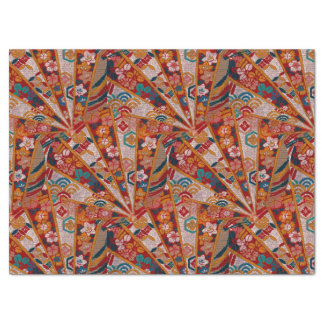 "Screens Oriental Fabric 17"" X 23"" Tissue Paper"