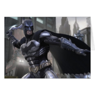 Screenshot: Batman Greeting Card