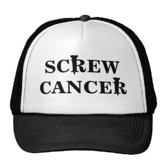 Screw Cancer Hat