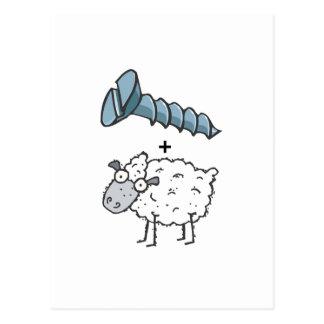 screw ewe post cards