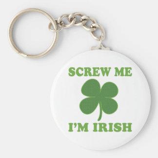 Screw Me Im Irish Key Chain