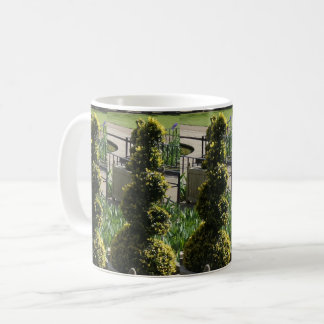 Screw Plant White Coffee Mug
