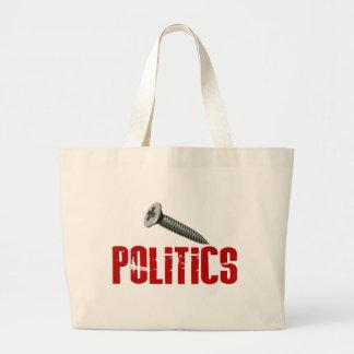 Screw Politics Tote Bag
