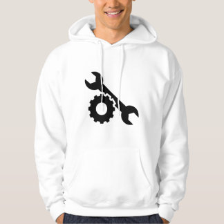 Screw wrench gear hoodie