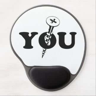 Screw You Screw Gel Mouse Pad