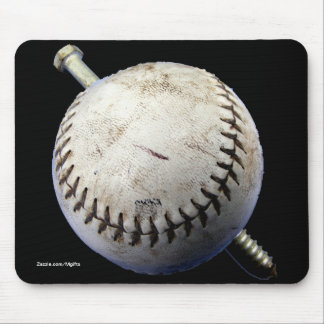 Screwball Mouse Pad