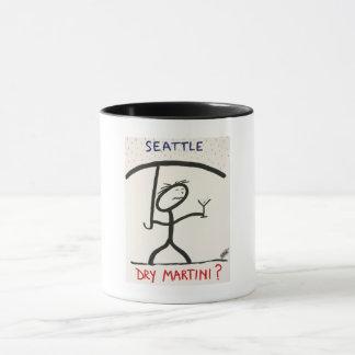 Screwballs™ Seattle Martini Coffee Mug