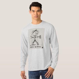 Screwballs™ ShakenNotStirred Long Sleeved T-Shirt