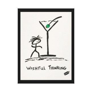 Screwballs™ Wishful Thinking Canvas Art