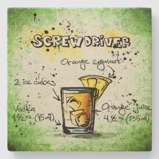 Screwdriver Drink Recipe Stone Coaster