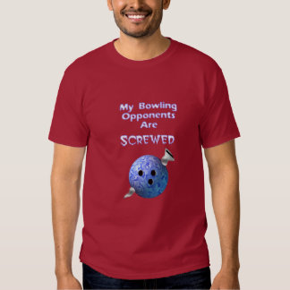 Screwed Bowler Tee Shirts