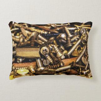 Screws etc decorative cushion