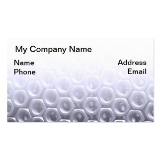Screws, Nuts and Bolts Pack Of Standard Business Cards