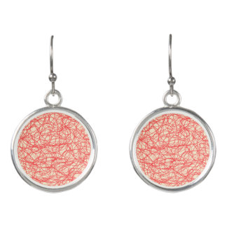 scribble earrings