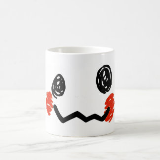 Scribble Face Mug
