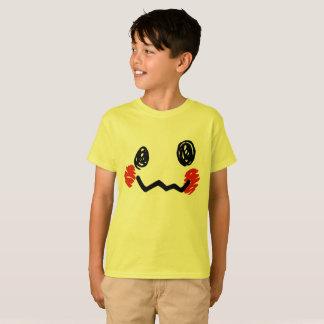 Scribble face t-shirt