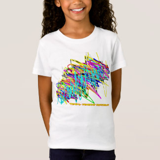 Scribble Kids' Basic  T-Shirt, Black T-Shirt