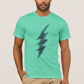 Scribble Lightning Bolt T-Shirt