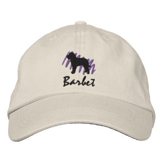 Scribbled Barbet Embroidered Hats