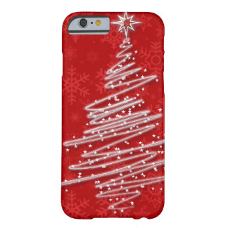 Scribbled Christmas Tree Barely There iPhone 6 Case