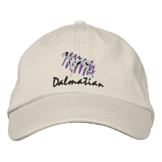 Scribbled Dalmatian Embroidered Hats