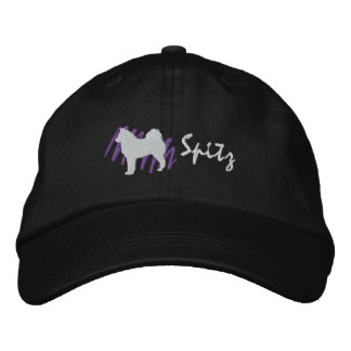 Scribbled Spitz Embroidered Hats