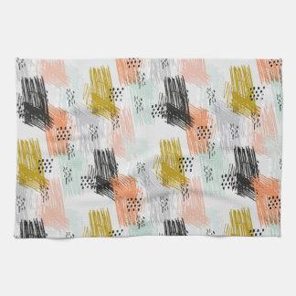 Scribbles // Hand-drawn Kitchen Towel