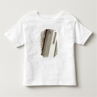 Scribe's palette and a case for writing reeds t shirt