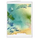 Scrimshaw Pond Greeting Card