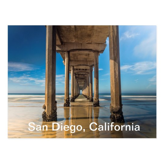 Scripps Pier in San Diego, California Postcard