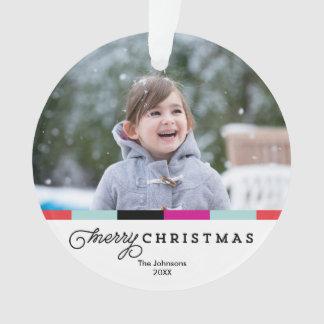 Script Merry Christmas | Acrylic Ornament