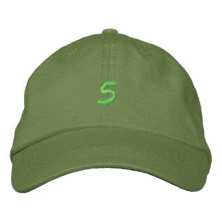 Script-Number 5 Embroidered Cap