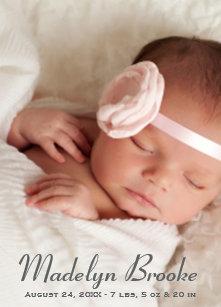 11694e40c0ed0 Birth Announcement Cards | Zazzle.com.au