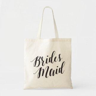Script Tote | Bridesmaid Budget Tote Bag