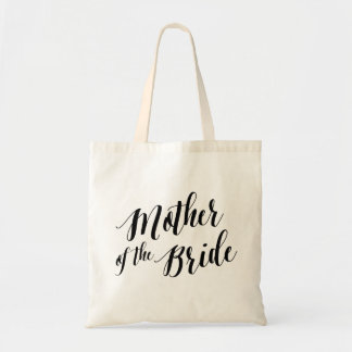 Script Tote   Mother of the Bride Budget Tote Bag