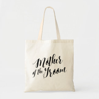 Script Tote   Mother of the Groom Budget Tote Bag