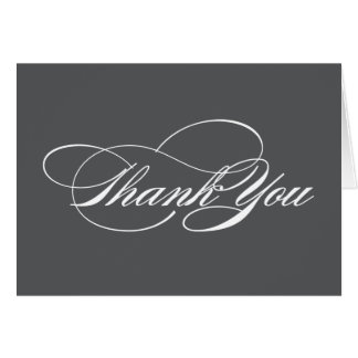 SCRIPTED | THANK YOU NOTE CARD