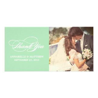 SCRIPTED | WEDDING THANK YOU PHOTO CARD