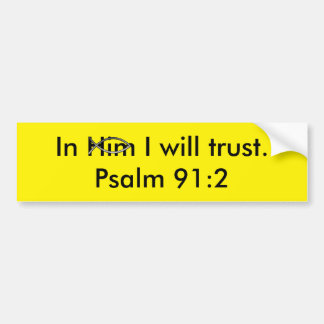 Scripture Bumper Sticker
