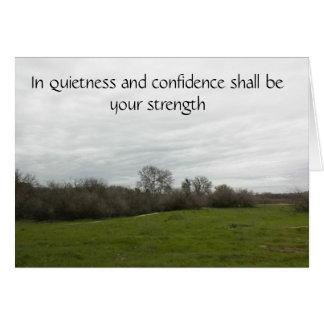 Scripture card to encourage trust.