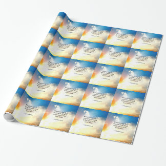 Scripture: Colossians 3:17, Bible Verse Wrapping Paper