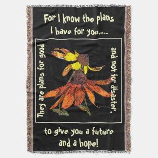 Scripture Jeremiah 29:11 Throw Blanket