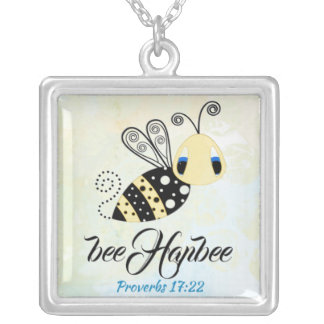 Scripture Large sterling silver necklace