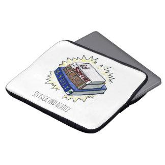 "Scripture Read Badly 13"" Laptop Soft Case"