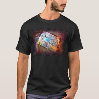 Scripture Sword - Men's Basic Dark T-Shirt