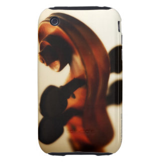 Scroll and Neck iPhone 3 Tough Case