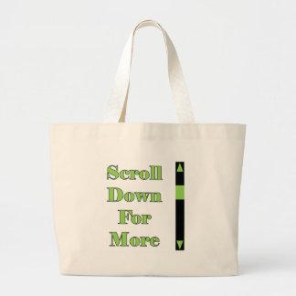 Scroll Down Full Bags