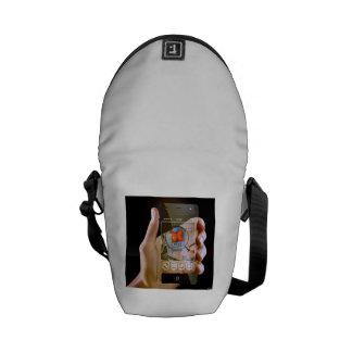 Scroll Game Pad Messenger Bags