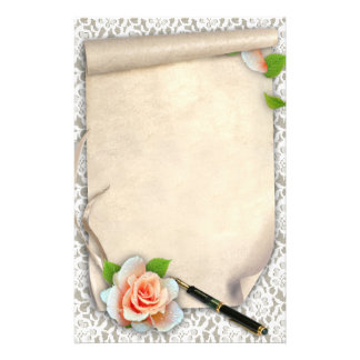 Scroll Personalised Stationery